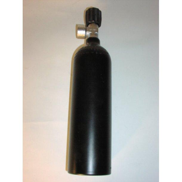 0,85L Alu flaske m.ventil