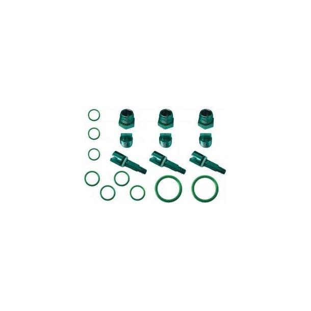Servicekits ventiler med manifold