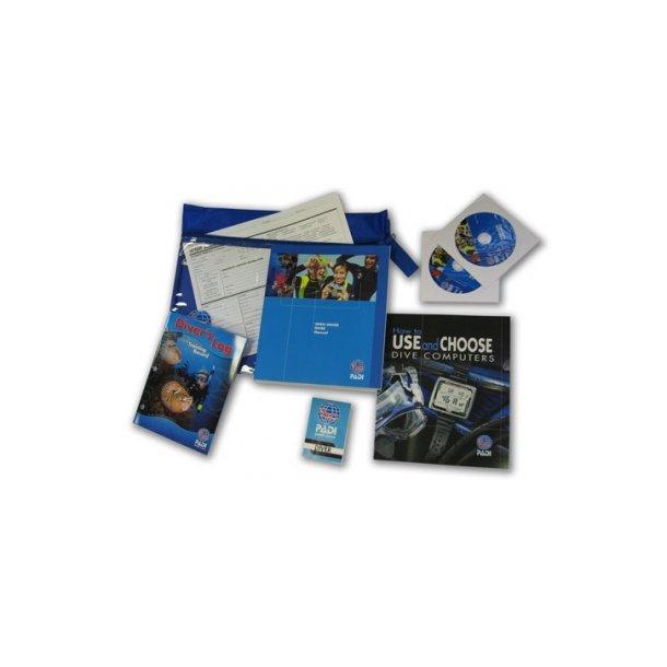 Kursusmateriale til PADI Open Water Diver