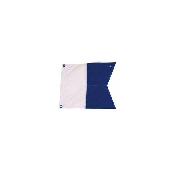 Dykkerflag 125x100 cm