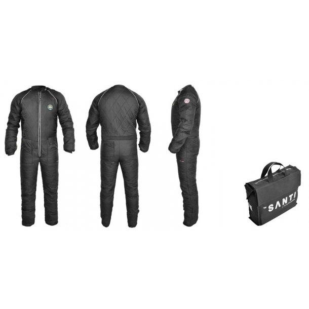 Santi BZ 400 heated undersuit including bag