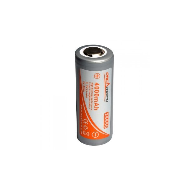orca Torch 26650 Li-ion batteri