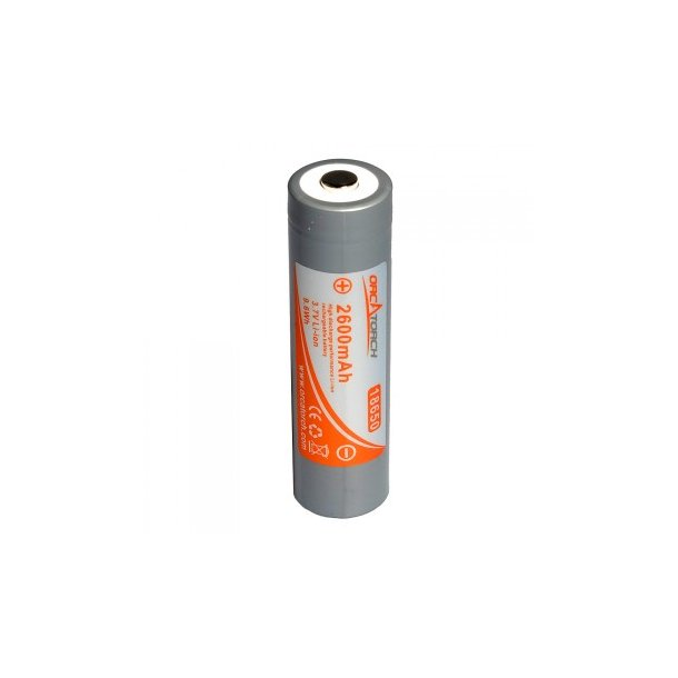 OrcaTorch 18650 Li-ion batteri