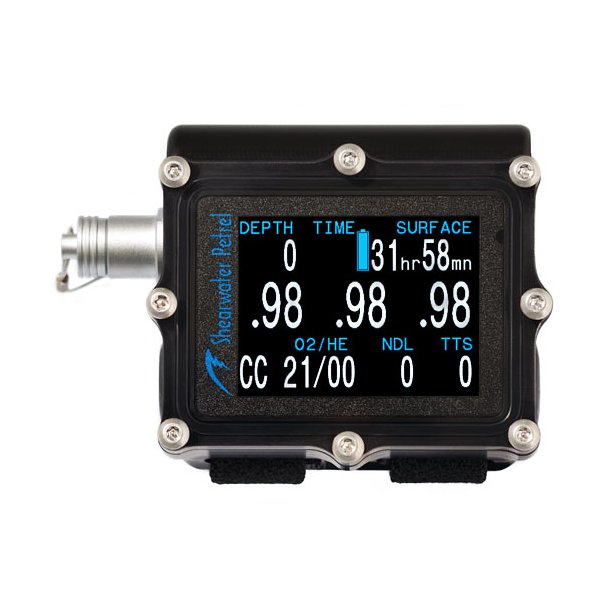 SHEARWATER PETREL2 OC/CC TRIMIX EXTERNAL