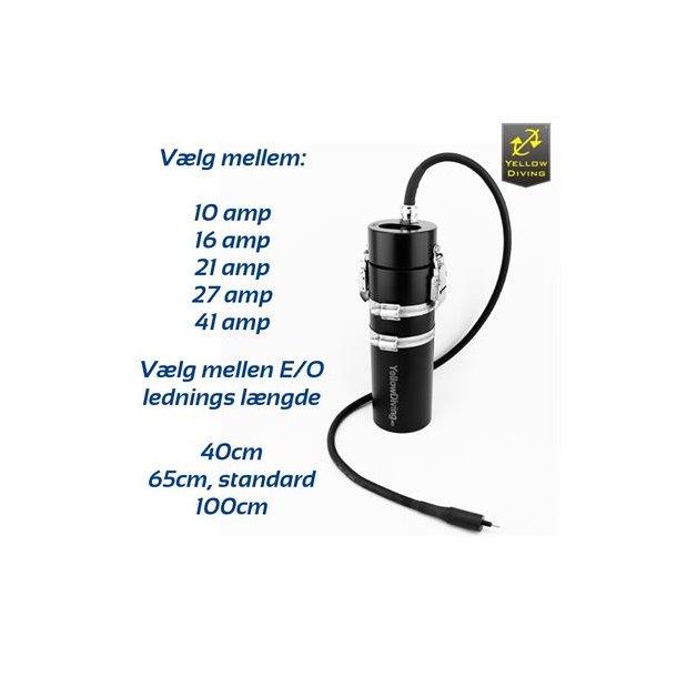 Yellow Diving batteri med enkelt E/O