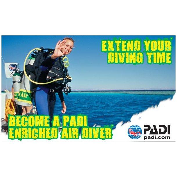 !!Padi: Nitrox Diver februar 2020