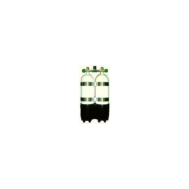 Dobbelt standfod til 5-7-8,5L flasker