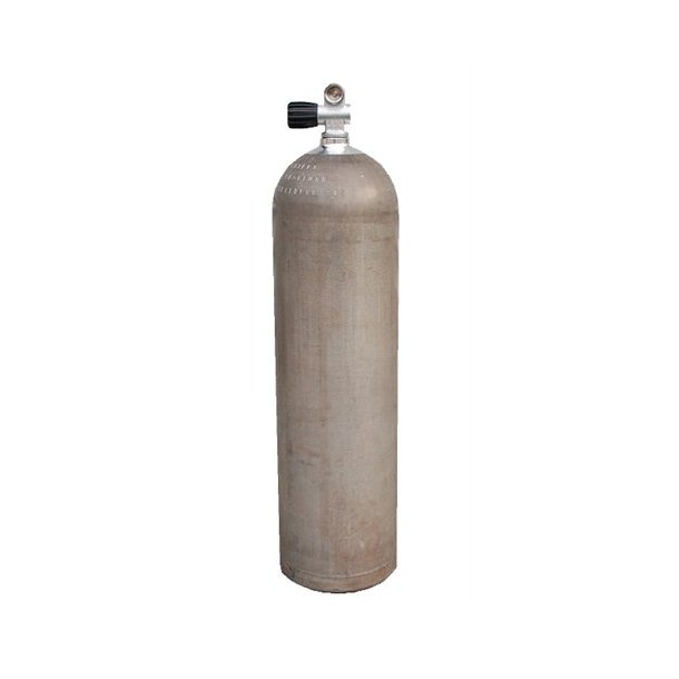 40cf alu stageflaske med ventil