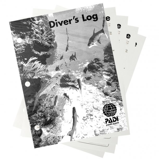 PADI Adventure Log Refill pages