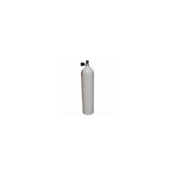 7L alu stageflaske med ventil