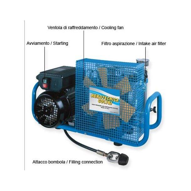 Coltri Sub kompressor MCH6/ET 100 L 400V