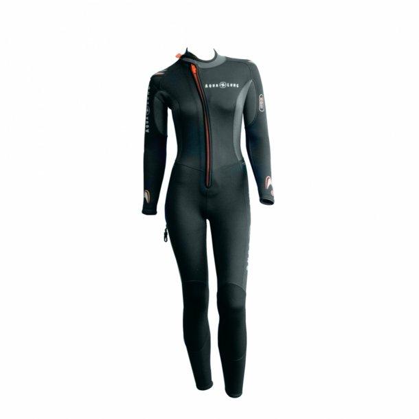 Aqualung Dive 5,5 mm jumpsuit med frontlynlås