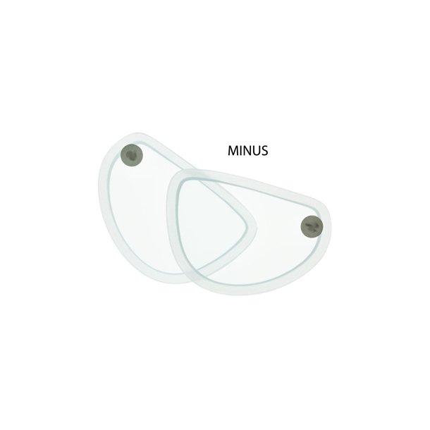 Styrkeglas MINUS til Seapro Optical maske