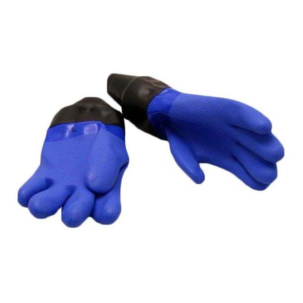 Nordic Blue tørhandsker med inderhandsker.