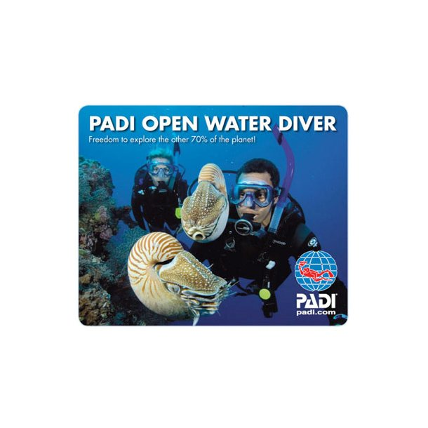 !PADI Open Water Diver hold 3 2019